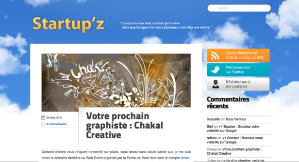 startup'z article